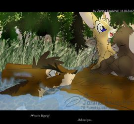 Watership Down -Swimming by JB-Pawstep