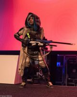 On stage picture of my Ana Amari cosplay! by sakuraaflor