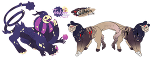 CLOSED - Leech monster collab adopts by occultic