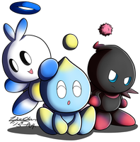 Chao Buddies by Zipo-Chan