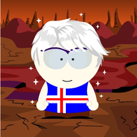 SATW Iceland South Park Style by ABtheButterfly