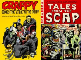 CREEPY and TALES FROM THE CRYPT Parody Art by DadaHyena