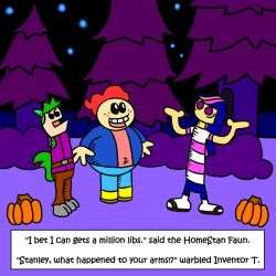 One Of Those Flashtoon Halloween Parodies by Cloudcuckooman