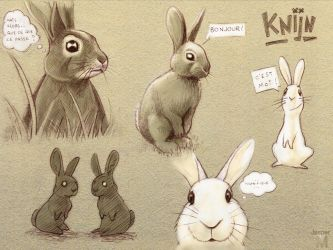 Bunny sketch by Jasper-M
