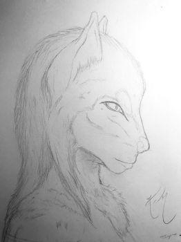 Wolf-Woman? by Celestial-Core