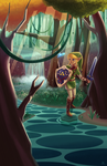The Legend of Zelda by animatorlu
