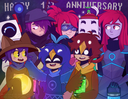 ONESHOT 1ST ANNIVERSARY by White-Hawk-15