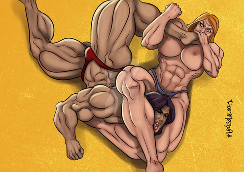 [C] Wrestling Match 13 by roemesquita