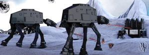 Echoes of Hoth by kageryu