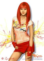 Amber red by Lucidaelle