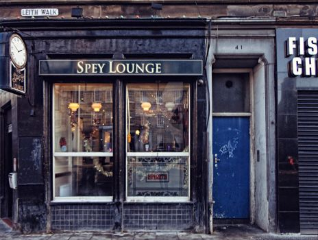 The Spey Lounge - Edinburgh - Scotland by Brainbarbie
