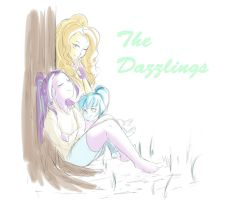 Regular Dazzlings2 by AmazingPuffhair