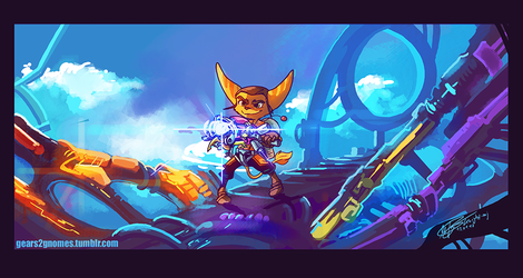 AGDQ2017 Ratchet and Clank by knight-mj