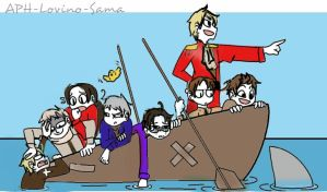 APH Draw the squad 5 by APH-Lovino-sama