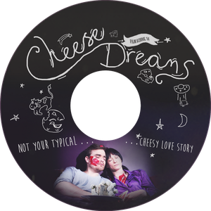 Cheese Dreams DVD disk by Faeiii