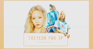 TaeYeon WHY Part2 3P PNG by vul3m3