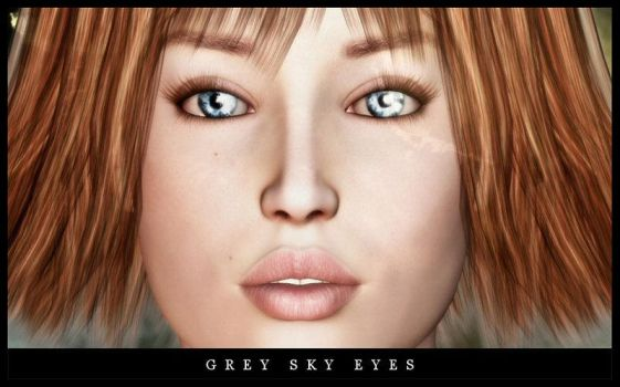 Grey Sky Eyes by RoyalSongstress