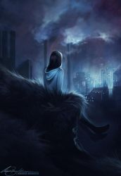 Violet Hill by Charlie-Bowater
