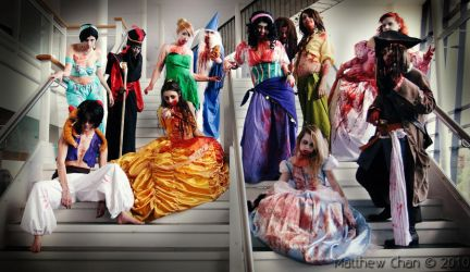 Undead Disney cosplays by KellyJane