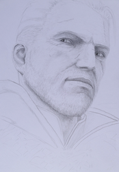 Geralt of Rivia The Witcher WIP by Tatooa2001
