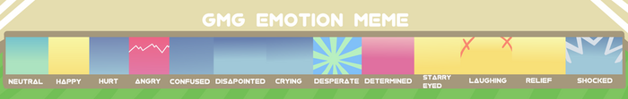 [GMG]: Emotion meme by LunarSpaceArtist
