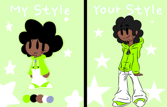 Skyfall-leafy .:Style challenge:. by InkingSky