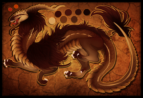 [CLOSED] Gold/Bronze Dragon Flat by SoulsplosionAdopts