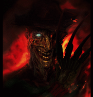 Freddy Krueger animated gif by cinemamind
