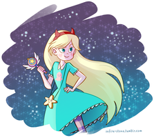 Princess Star Butterfly by Safire-Stone