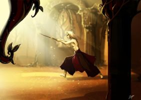 prince nuada training by Linouuu