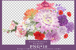 flower_png_bymika by mikakjj