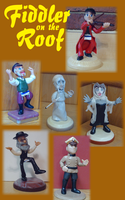 Fiddler on the Roof Macquettes by NToonz