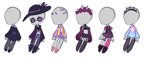 Smol clothes batch 1 (OPEN) by BluejayBae
