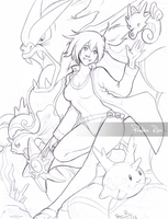 Gym leader: Misty by RikaChan3