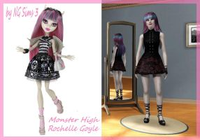 Monster High - Rochelle-Goyle - by NGSims3 by ng9
