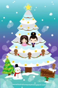 our xmas tree by simplyphi