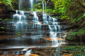 Tiers of Junction Falls by MarkLucey
