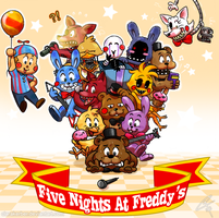 Freddy and Friends by ClaraKerber