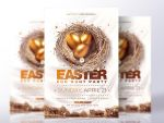 Easter flyer template by RomeCreation
