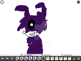 Shadow bonnie by TheFloweyfanclub