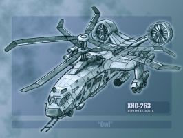 XHC-263 Owl by TheXHS