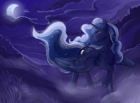 Princess Luna by 1AN1