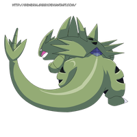 My Favorite Rock Type 2014- Tyranitar
