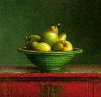 Still life with pears by josvanr