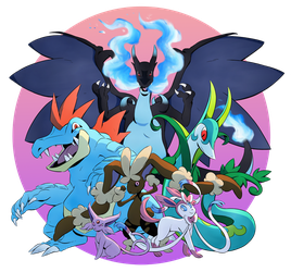 Pokemon Team: Battle Spot by ZiBaricon