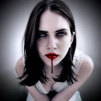 Vampire Elle-Drop of Blood by Darkest-B4-Dawn