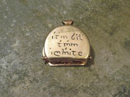 Hobbit Box Elvish inscription by Peaceofshine
