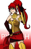 RWBY: Pyrrah by SaintsSister47