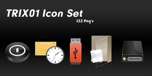 TRIX01 Icon Set by opelman