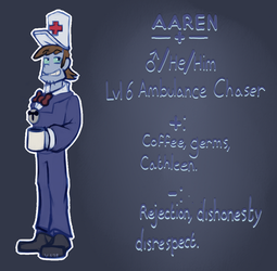 Aaren : Ambulance Chaser - Lawbot by Indiana-INDY-Viola